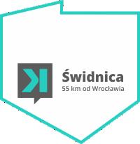 55 km od Wrocławia